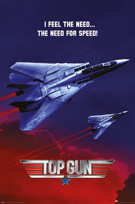 Top Gun: The Need for Speed Portrait Poster
