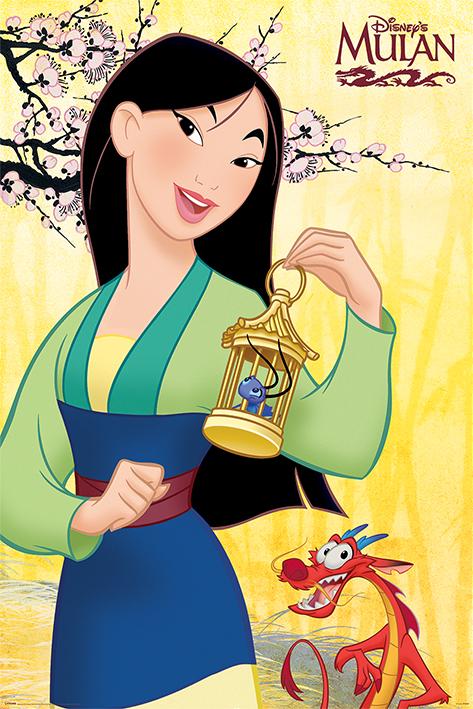 Mulan: Blossom Portrait Poster