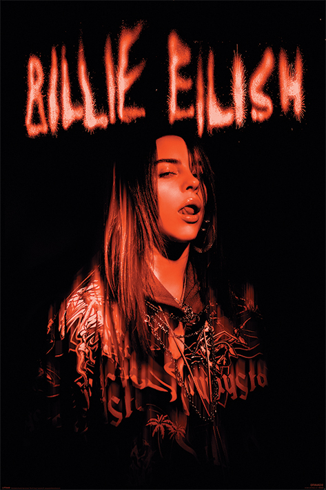 Billie Eilish: Sparks Portrait Poster