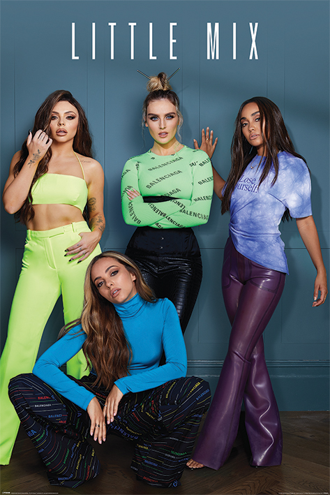 Little Mix Portrait Poster