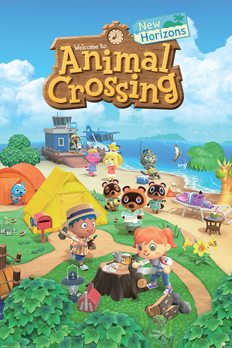 Animal Crossing: New Horizons Portrait Poster