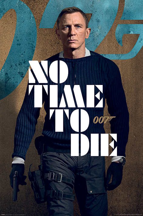 James Bond: No Time To Die Portrait Poster