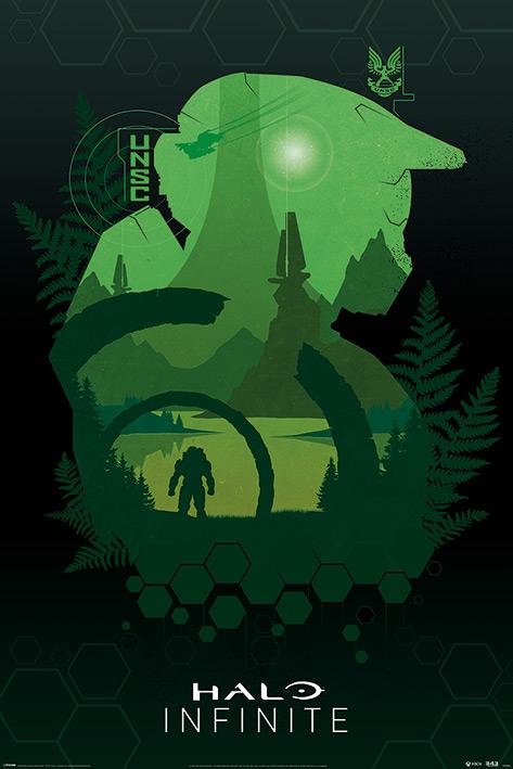 Halo Infinite: Lakeside Portrait Poster