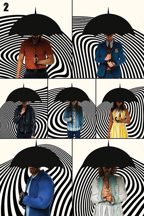 The Umbrella Academy: Family Portrait Poster