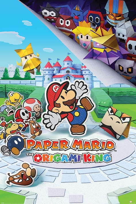Paper Mario: The Origami King Portrait Poster