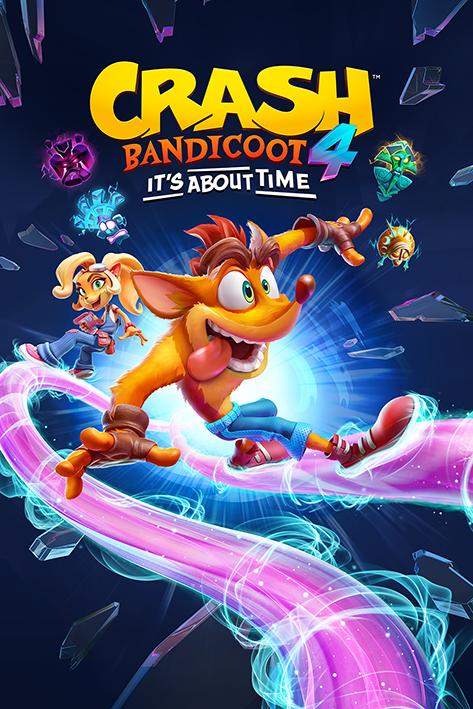 Crash Bandicoot 4: Ride Portrait Poster