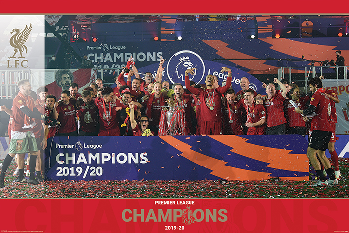Liverpool FC: Trophy Lift Landscape Poster