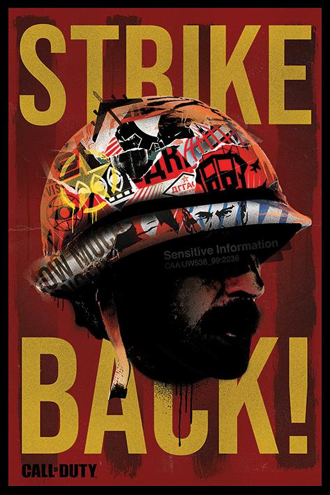 Call of Duty Black Ops Cold War: Strike Back Portrait Poster