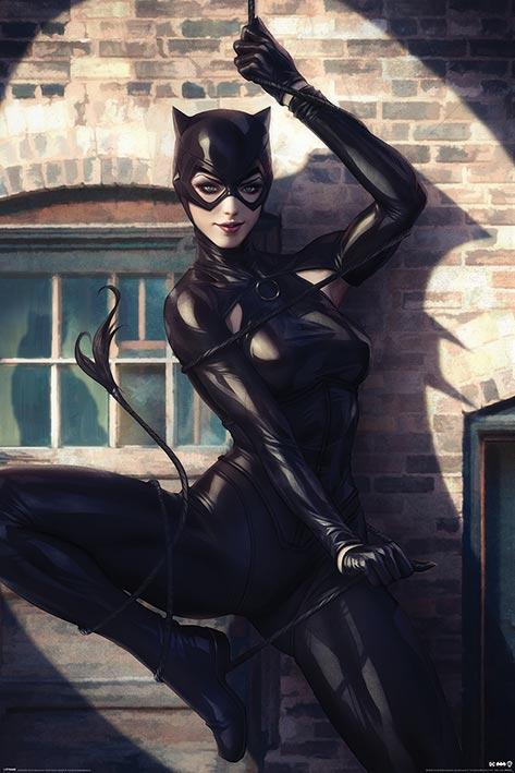 Catwoman: Spot Light Portrait Poster