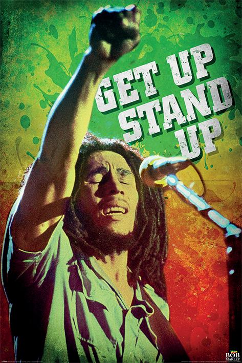 Bob Marley: Get Up Stand Up Portrait Poster