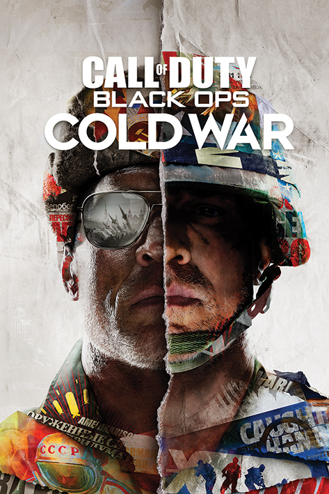 Call of Duty Black Ops Cold War: Split Portrait Poster