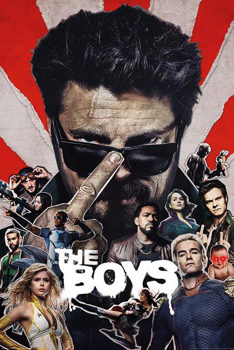 The Boys: Sunburst Portrait Poster