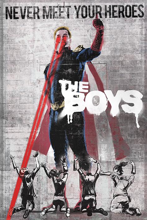 The Boys: Homelander Stencil Portrait Poster