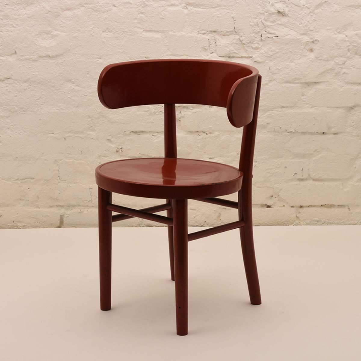 Werner-West_Side-Chair-Red