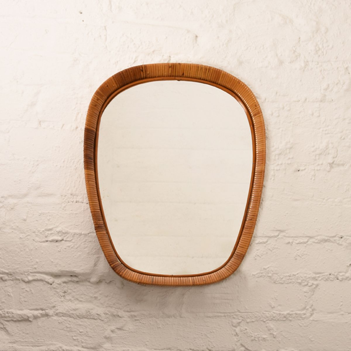 Rattan-Mirror-Oblong
