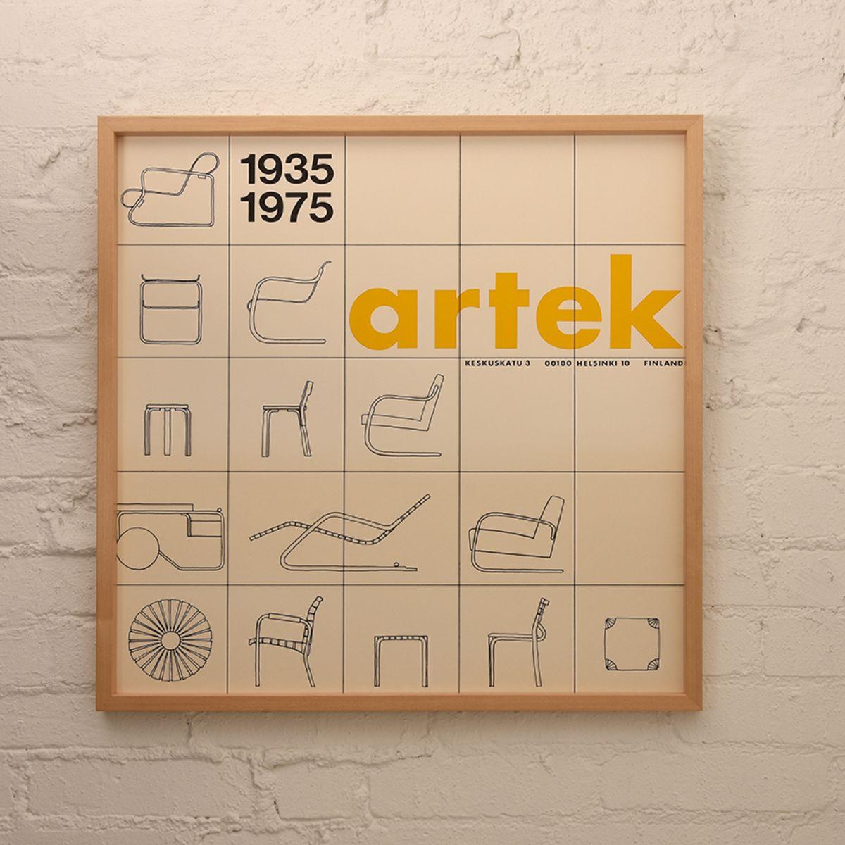 Artek-Anniversary-Poster_Yellow