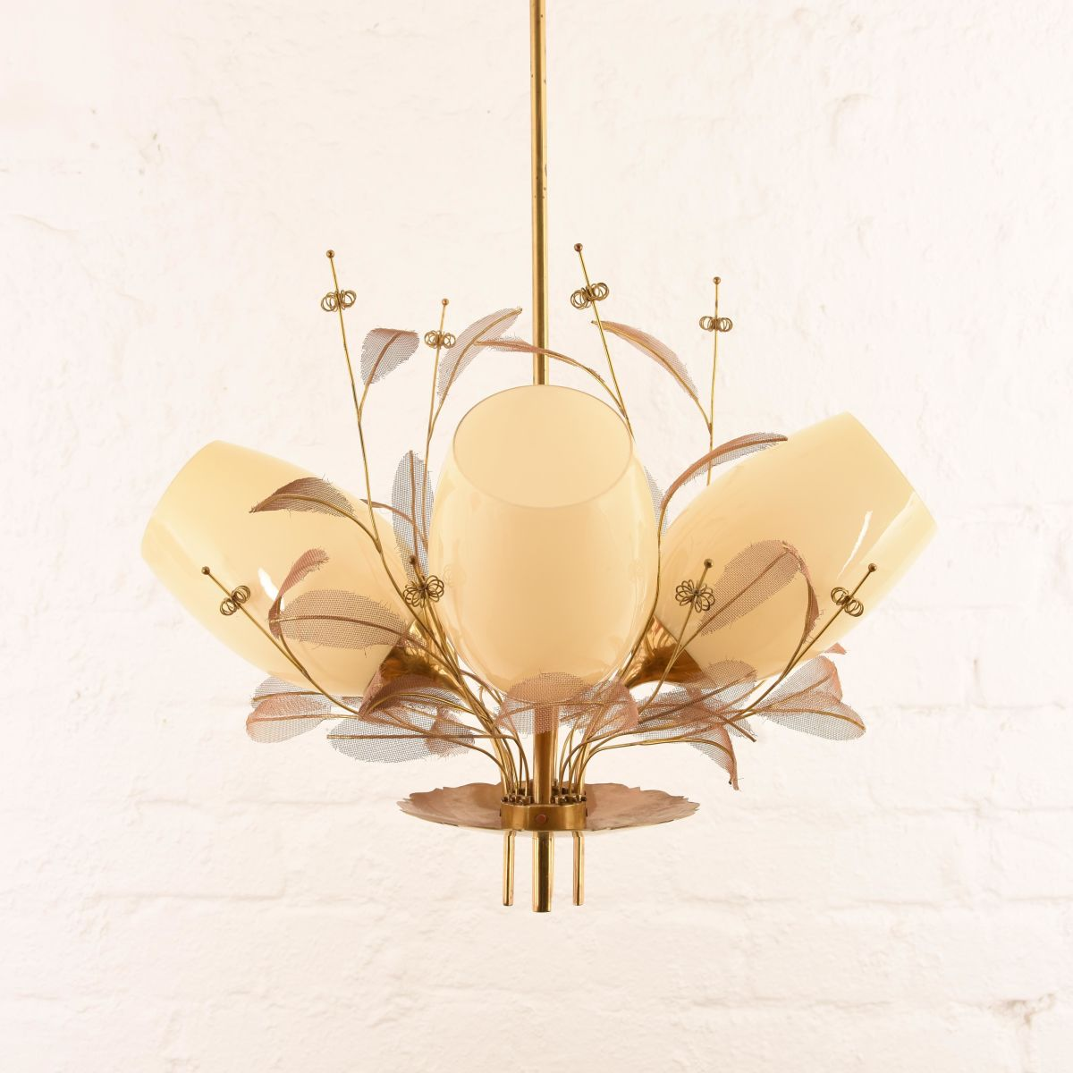 Paavo Tynell Chandelier Leaves A