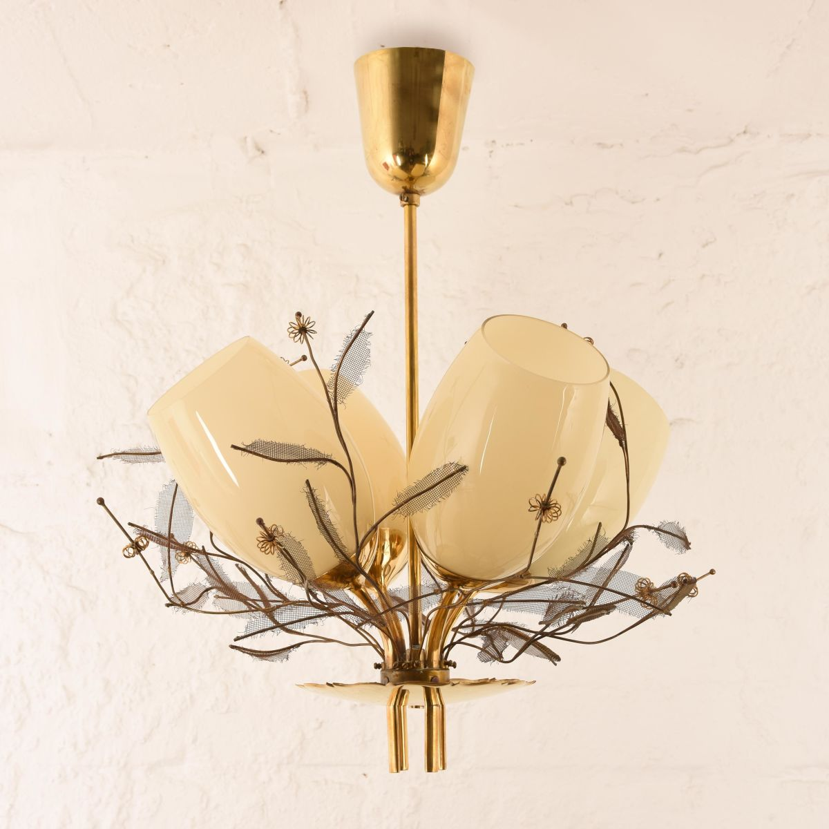 Paavo Tynell Chandelier Leaves B