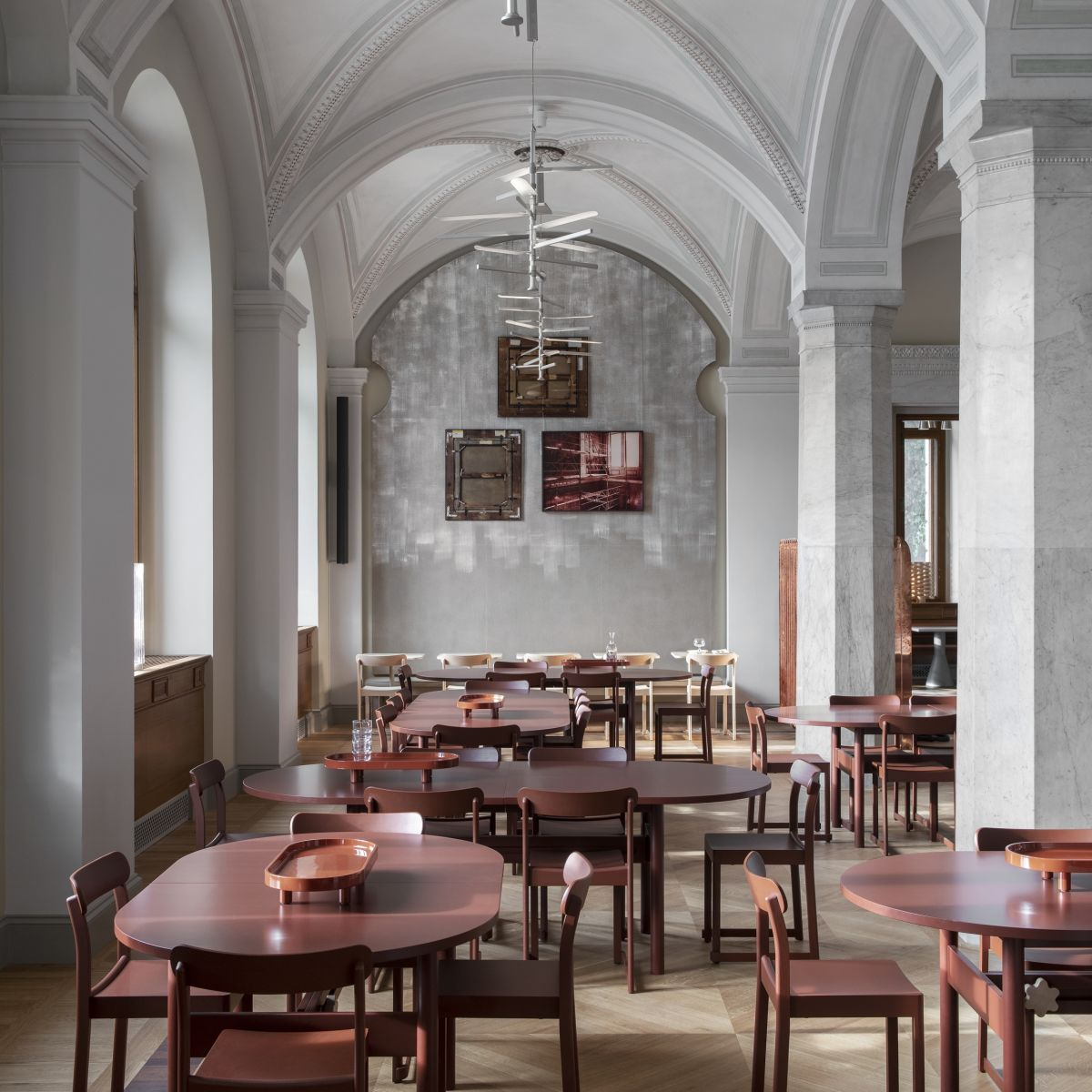 Artek Atelier Chair Nationalmuseum 1Restaurant Photo Erik Lefvander