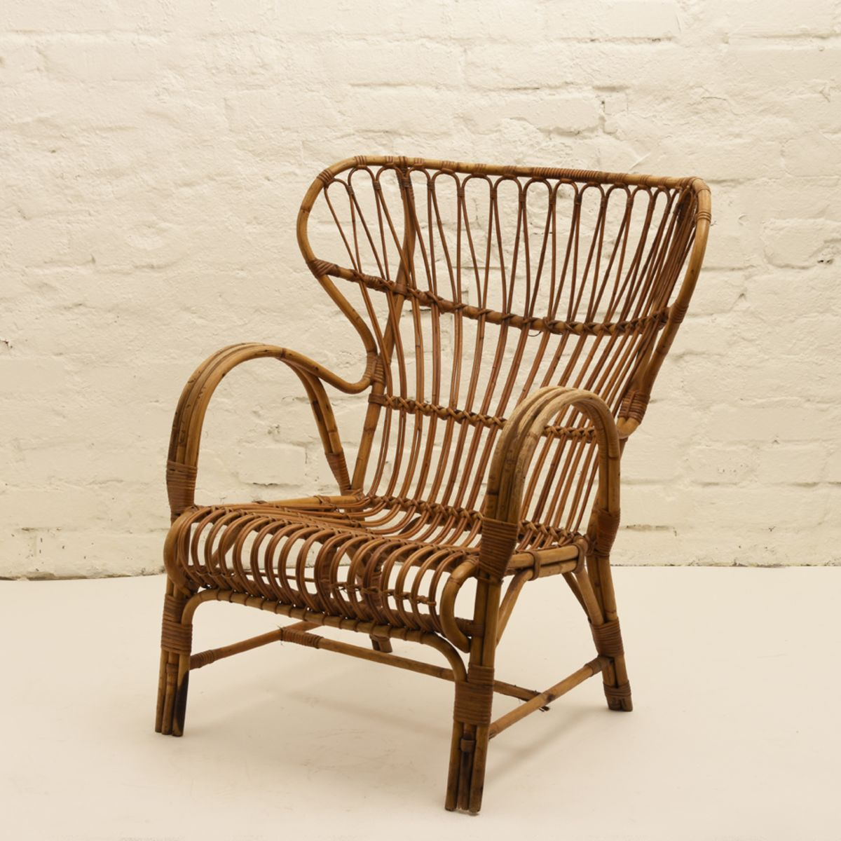 Finnish Rattan Chair