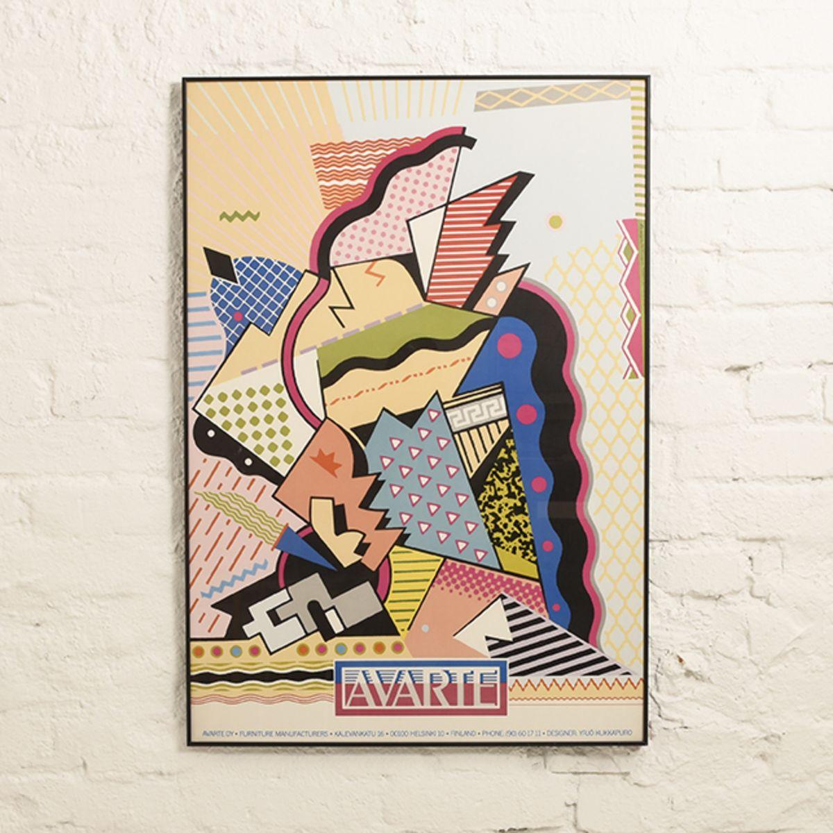 Kukkapuro-Yrjö-Atarte-Poster