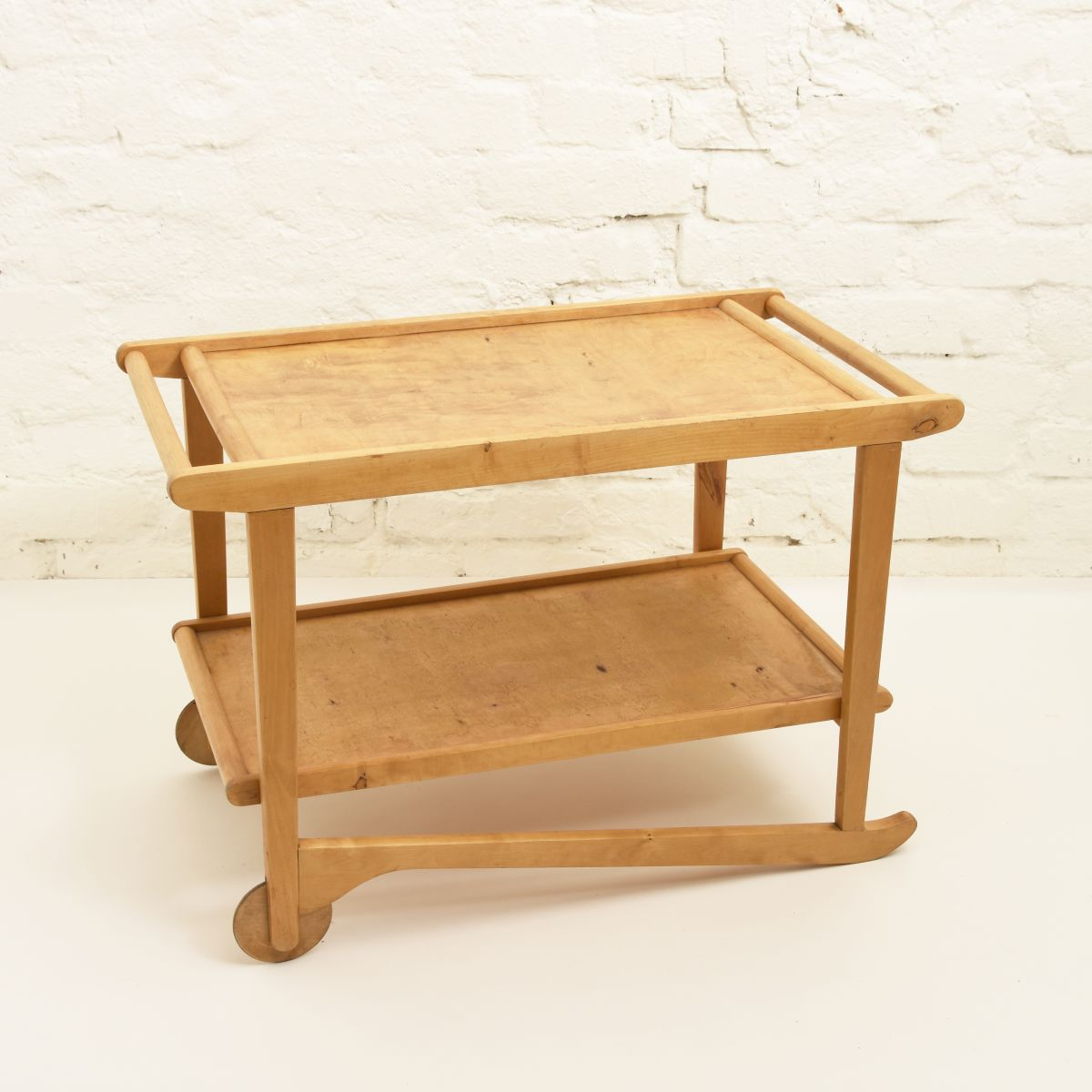 Tapiovaara-Ilmari-Tea Trolley-birch