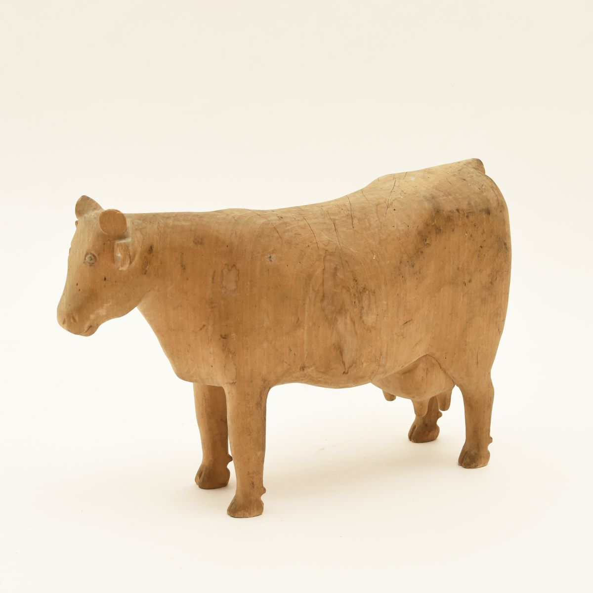 Anonymous-Folky-Wooden-Cow