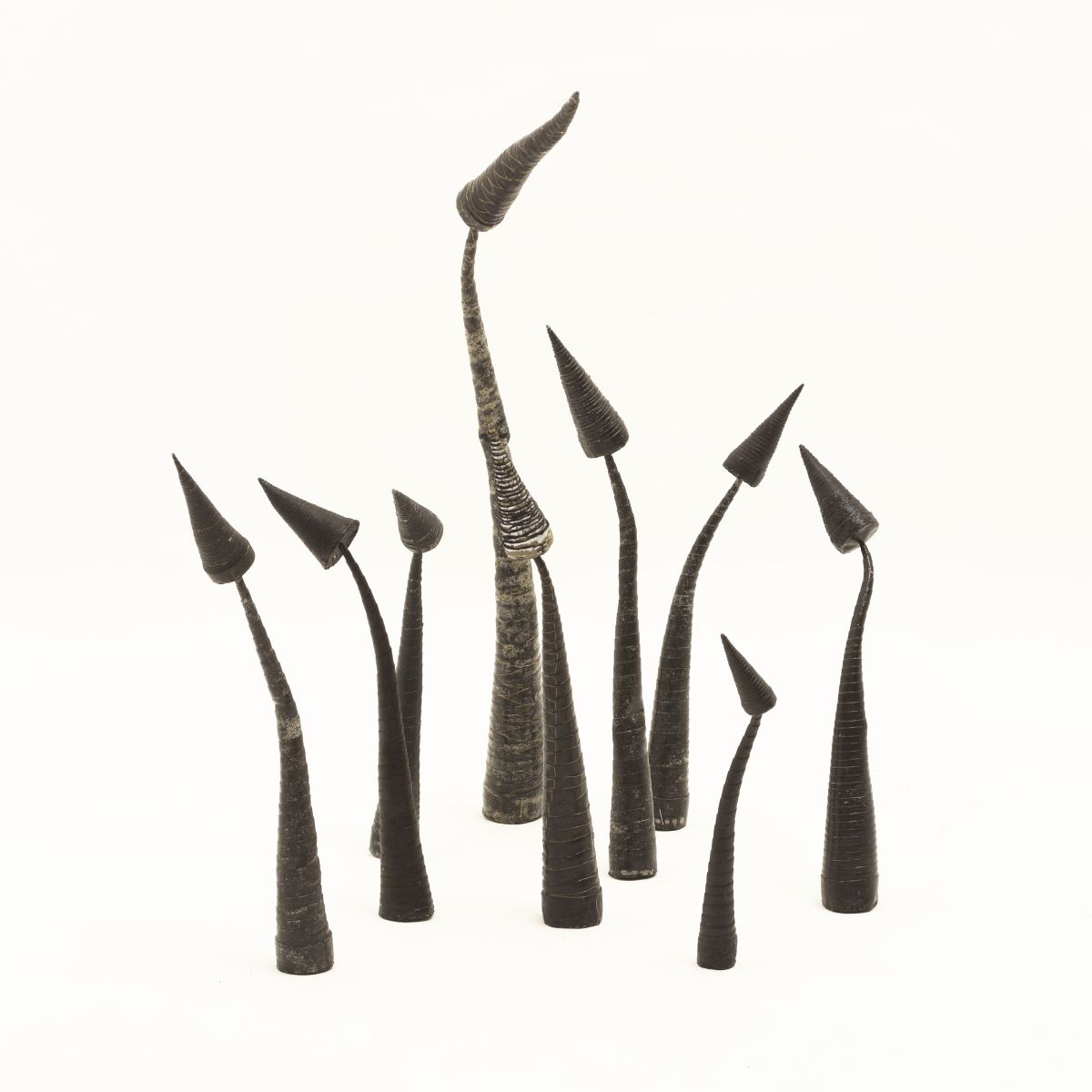 Anonymous-Black-Leather-Sculpture