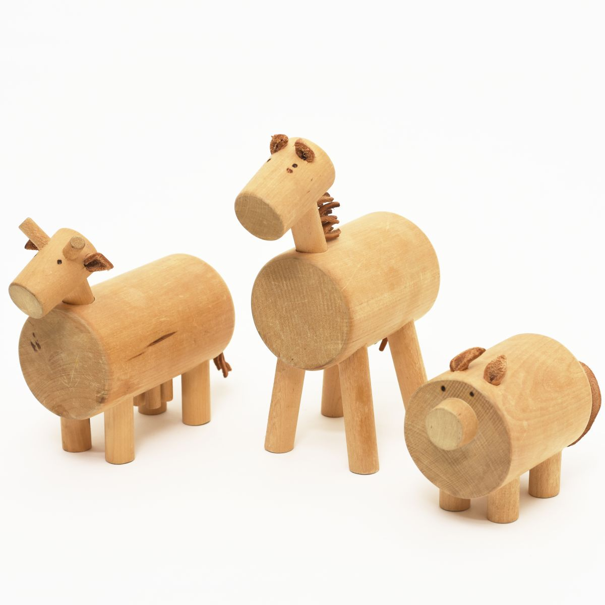 Anonymous-Wooden-Animals