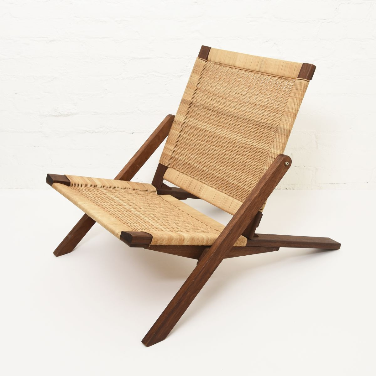 Anonymous-Folding-Rattan-Chair