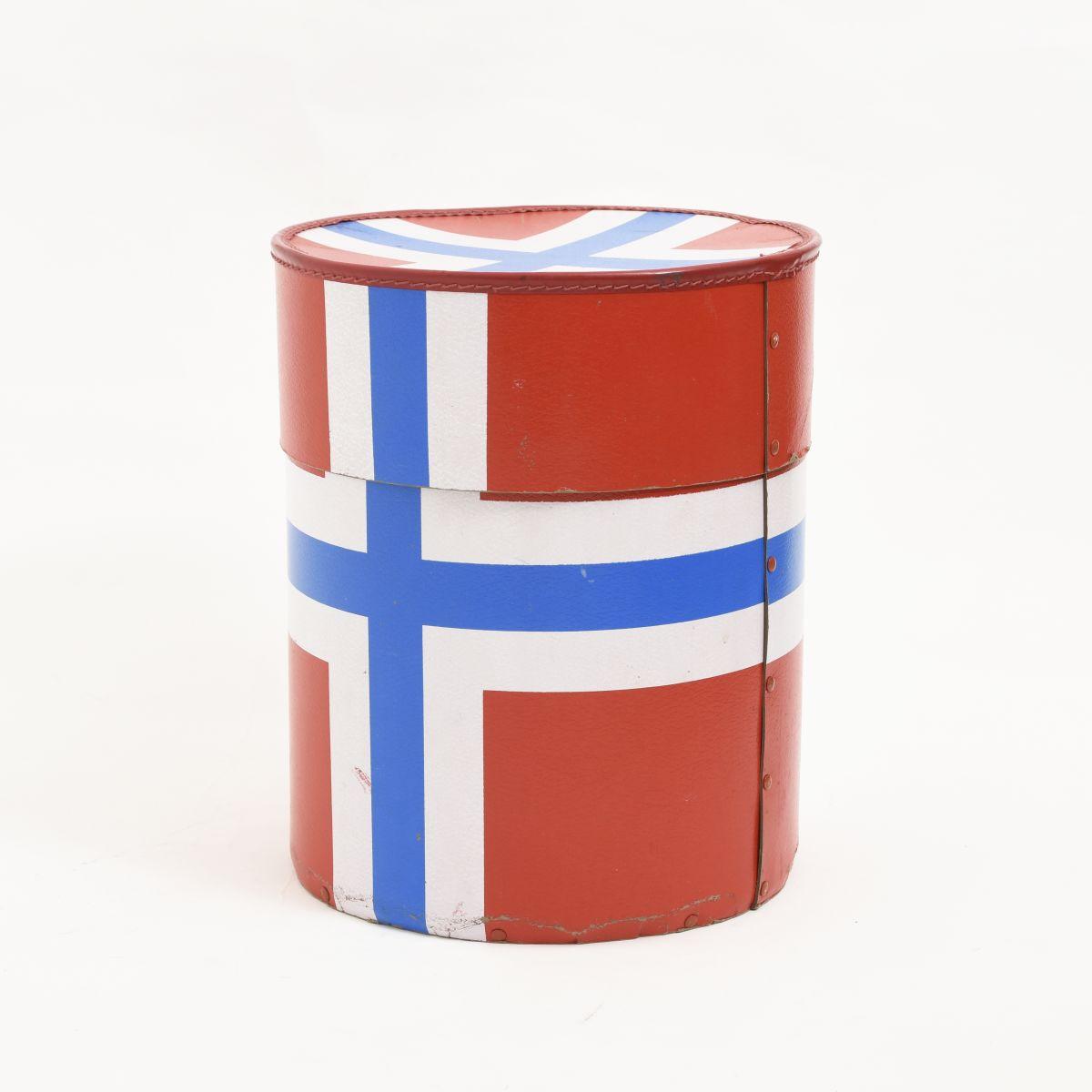 Anonymous-Norwegian-Flag-Hat-Box
