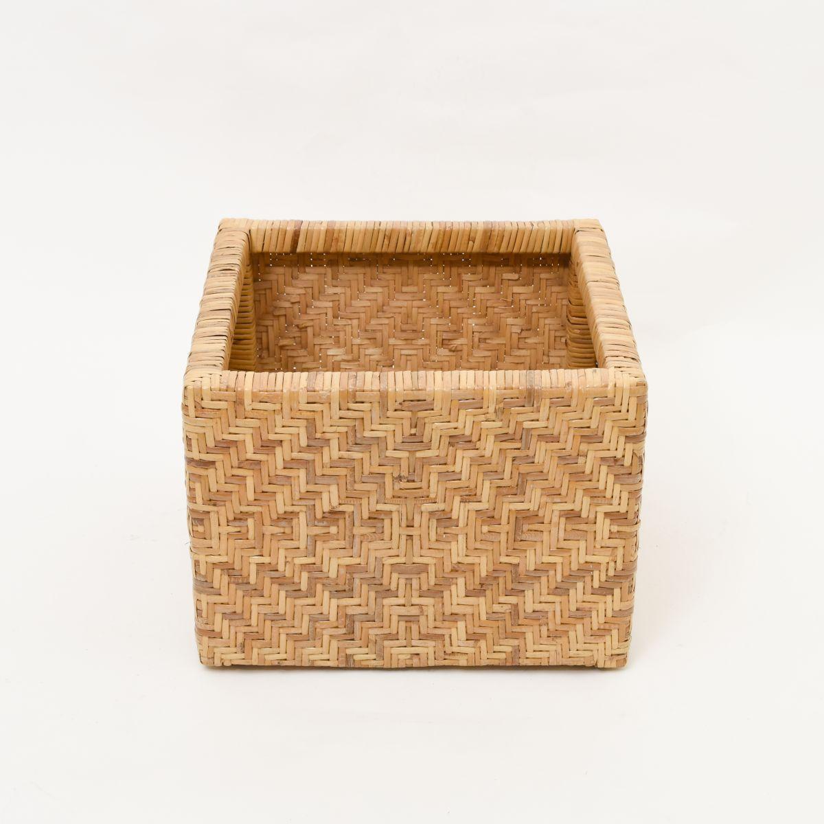 Anonymous-Square-Rattan-Box