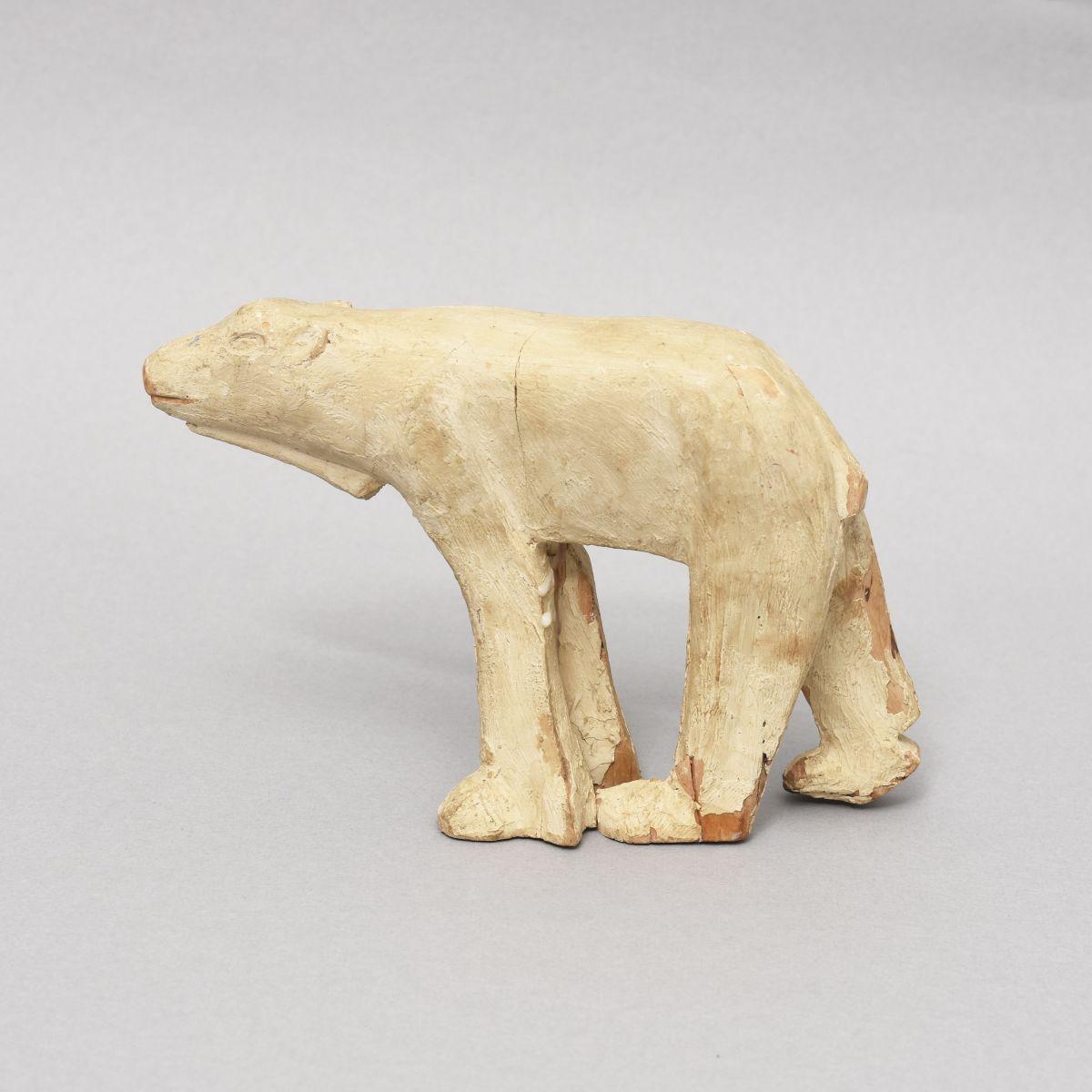 Anonymous-Wooden-Sculpture-Poler-Bear