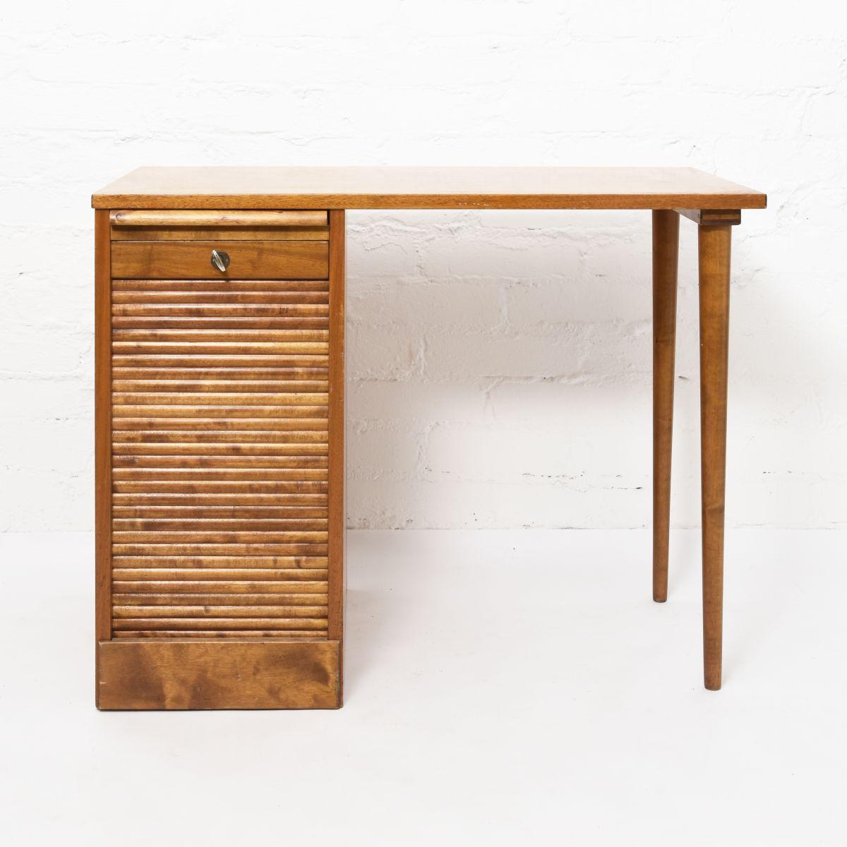 Tapiovaara-Ilmari-Desk-with-Drawer-Rock-System