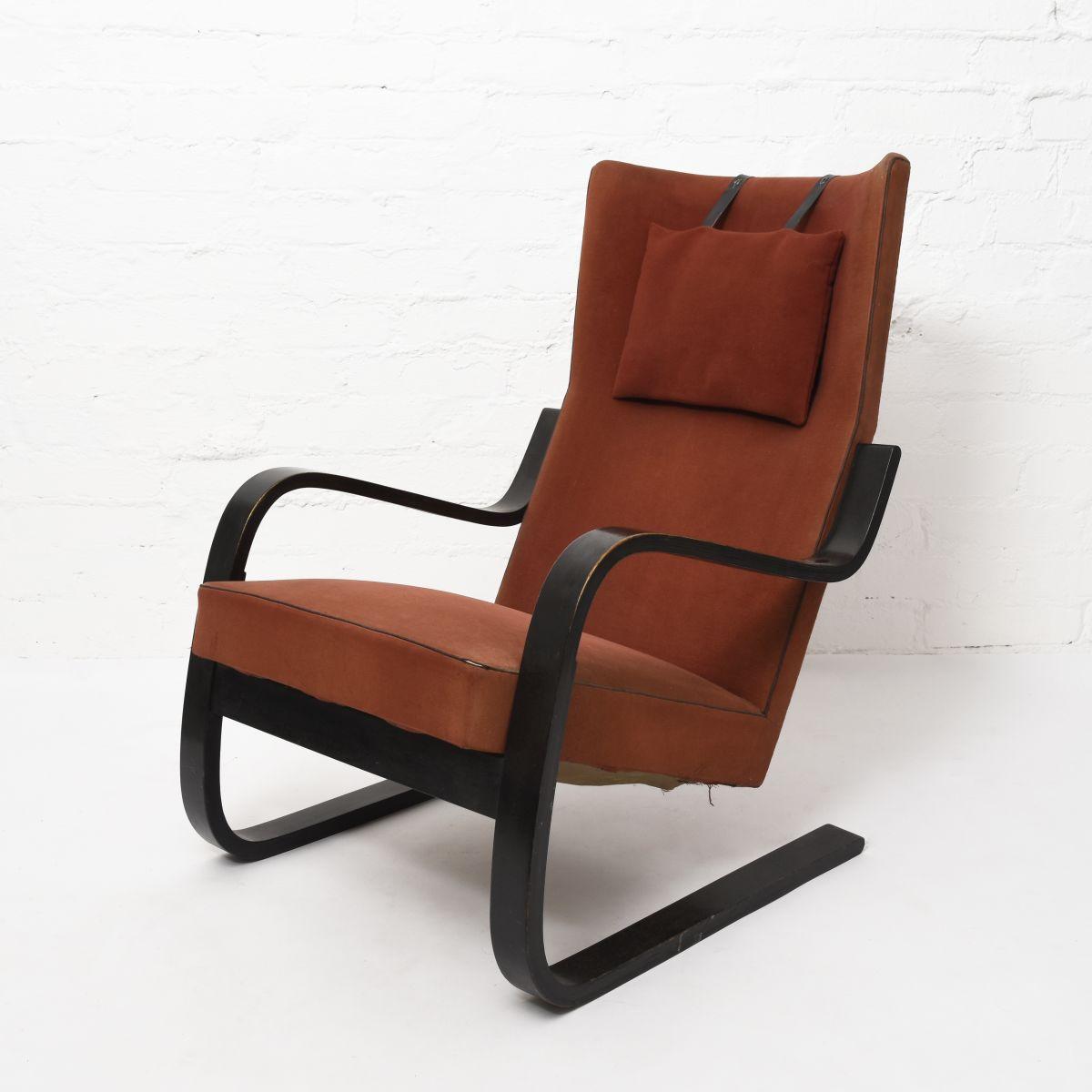 Aalto-Alvar-Early-Armchair-401-Original-Condition