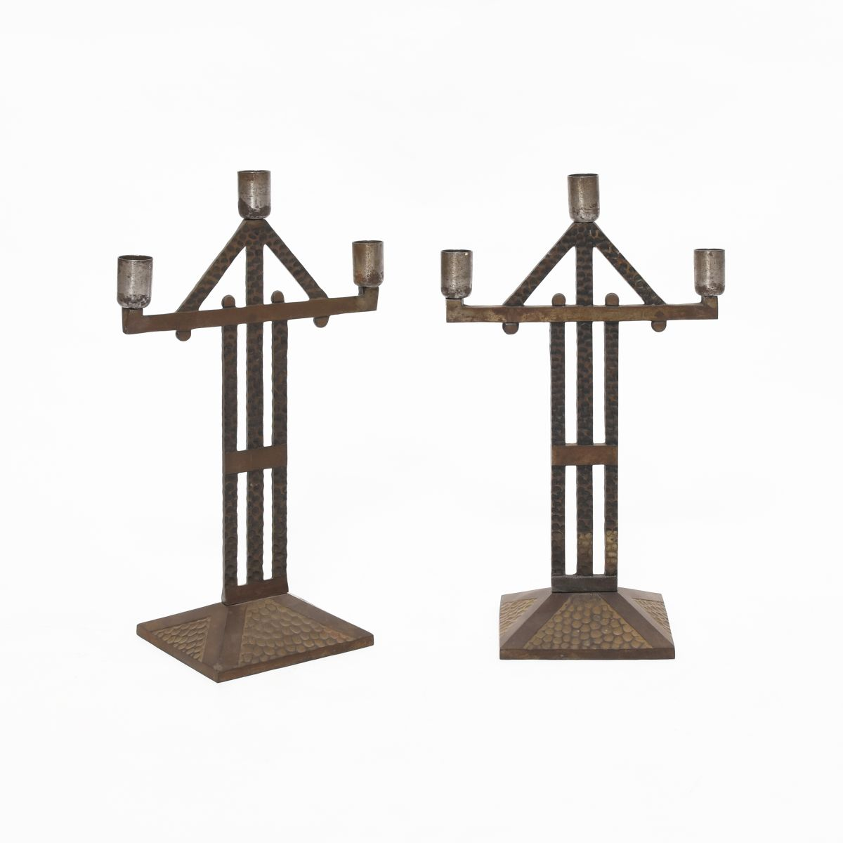 Anonymous-Iron-Candle-Holder