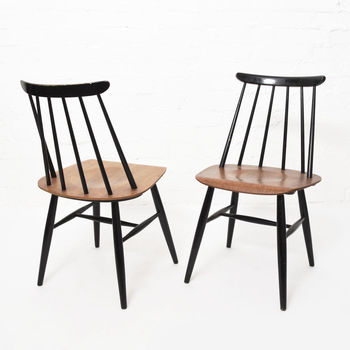 Tapiovaara-Ilmari-Fanett-Chair-Wood-Black