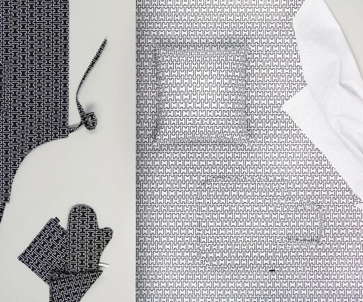 H55 black / white - white / black