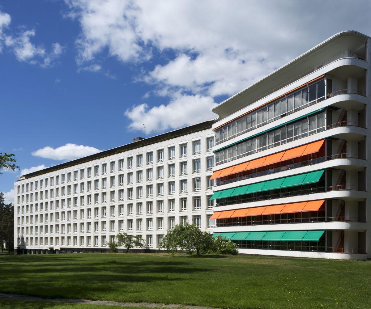 Paimio Sanatorium exterior