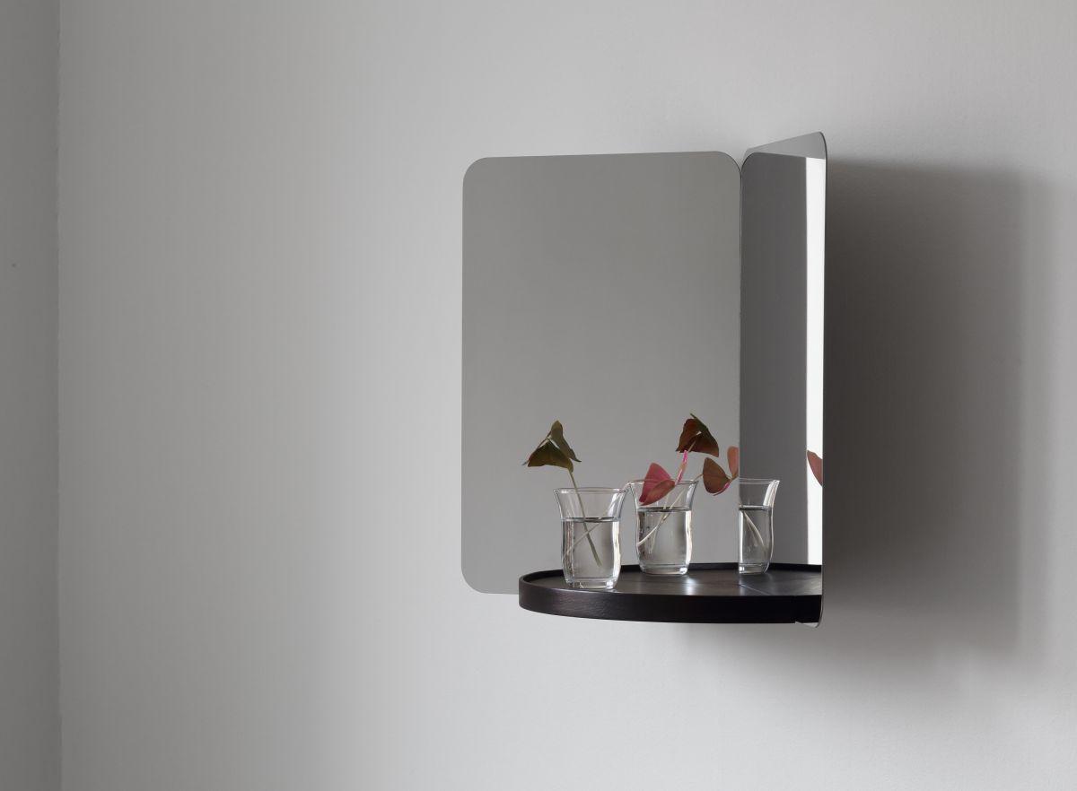 124° Mirror medium tray