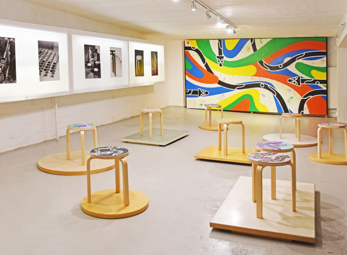 Ines Sederholm exhibition at 2nd Cycle store