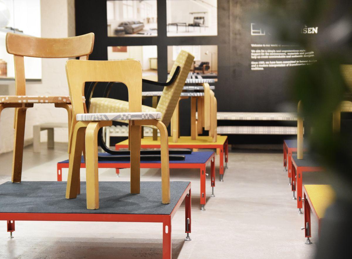 Johanna Gullichsen textile exhibition at Artek 2nd cycle