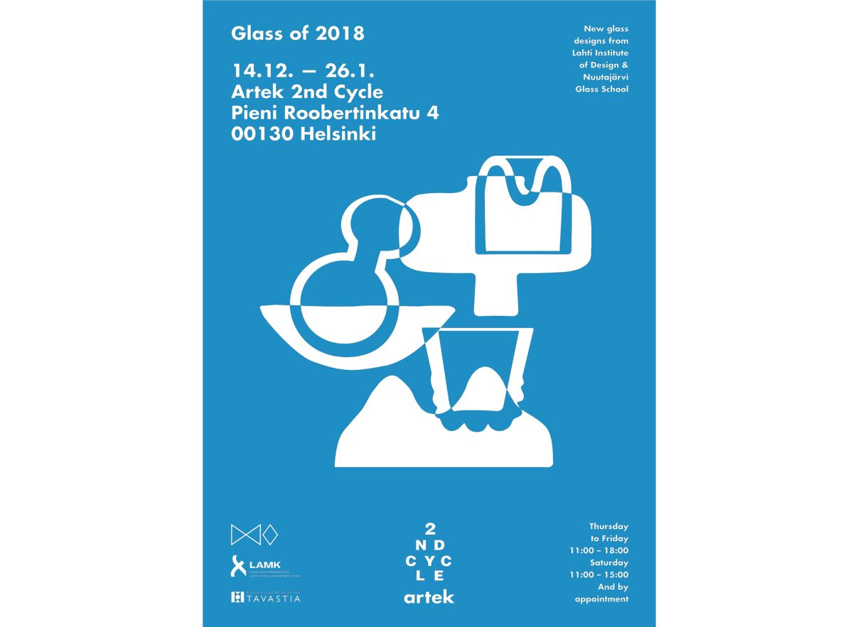 Glass of 2018 -exhibition until 26th of January