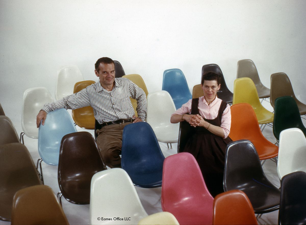 Charles & Ray Eames – at the vanguard of design
