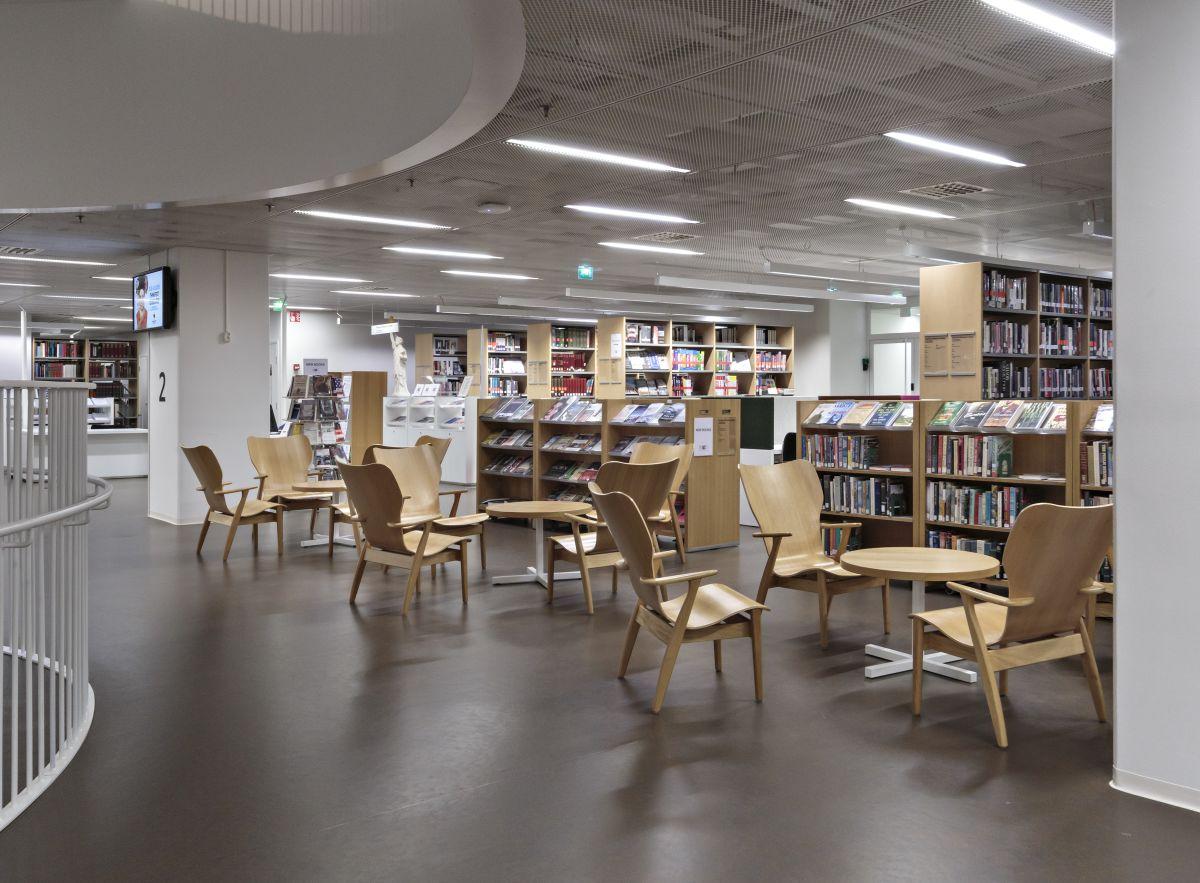 Kaisa_House_University_Main _Library_Helsinki_2012_photo_Rauno_Träskelin_7