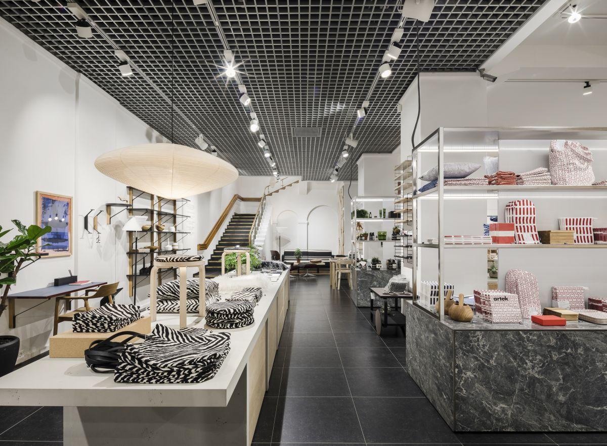 Artek Helsinki Store Home Decoration Selection