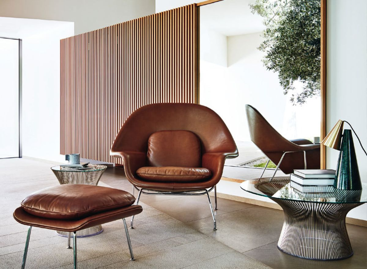 Eero Saarinens Womb Chair