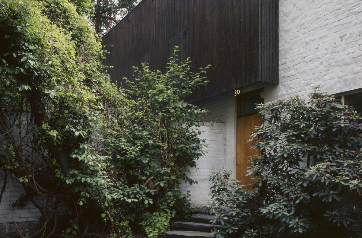 Aalto House entrance