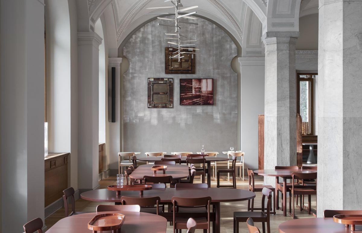 スウェーデン国立美術館と「アトリエ チェア」