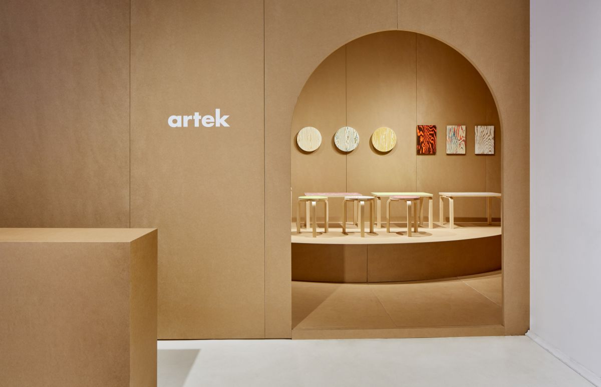 manhattan designers mobel Artek at Milan Design Week 2019